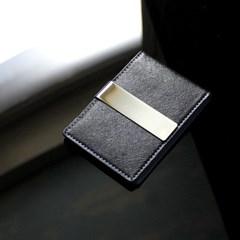 리더플랜 가죽 디자인 머니클립 지갑 카드지갑형_(602556416)