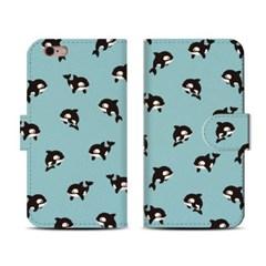 왈렛다이어리커버/ 아기범고래 Chokey pattern