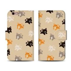왈렛다이어리커버/ Minicats pattern