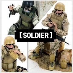 35cm 나라별 군인 구체관절인형 /군인시리즈/soldier