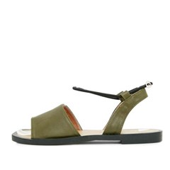 kami et muse Ankle string flat sandals_KM17s306