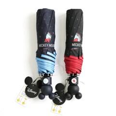 [엔비로라]미키마우스 3단자동우산 - 미키 와펜 우산 e702