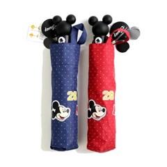 [엔비로라]미키마우스 3단자동우산 - 미키 패치 우산 e701