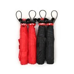 아이콘 핸들 접이식 우산(미키,미니)_(678063)