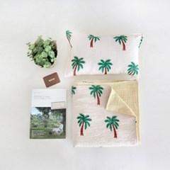 여름이불-코코넛 트리(3중거즈)