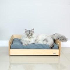 데어바이 강아지,고양이 원목침대 굿 베드