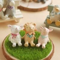 [일본정품]2017년 신상동물_양,사자,돼지
