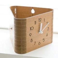 커브 양면 숫자 무소음시계