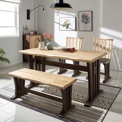 나인우드 디자인 4인 식탁 세트_(11130902)