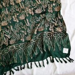 [Sarong] Cactus - D.green