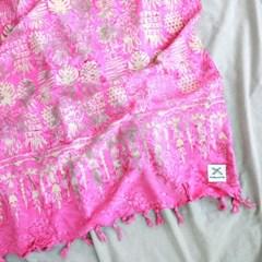 [Sarong] Pineapple - Pink