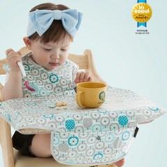 [베리민트]휴대용아기식탁커버 / 식당의자위생 걱정끝 / 외출필수품