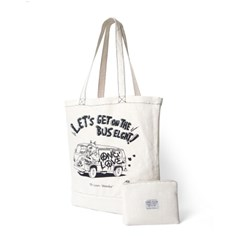 Ordinary Bag - Lets Get on The Bus (White)