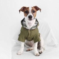 Miyopet 트렌치코트 카키 고양이옷 강아지옷 코스튬 할로윈