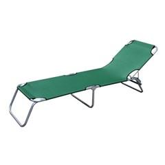 실속형캠핑 접이식 침대의자1개