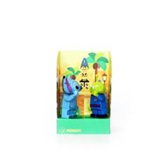 펀치 미니하우스-오스카, Punchy-lego minifigure house, 펀치