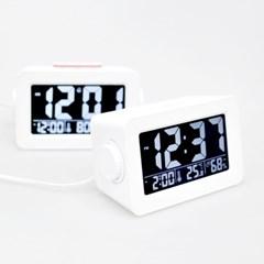 무아스 듀얼다이얼 충전 클락 / Dual Dial Charging Clock