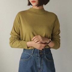 half high neck knit