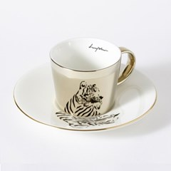 [LUYCHO] 루이초 Siberian Tiger-Short (원형미러컵+컵받침SET)