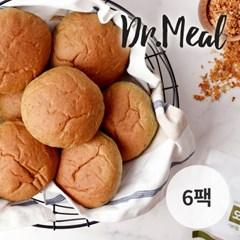 닥터밀 오직통밀 쑥 모닝빵 6팩 (70g)