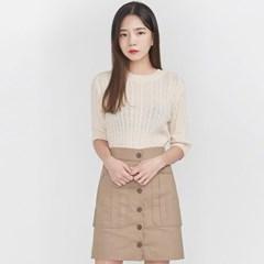 pale twist half knit_(694300)