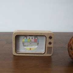 텔레비전 나무 액자 - 3size