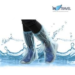 여행용품 휴대용 비닐장화 휴대용장화 비닐장화 레인