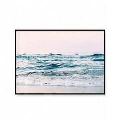 패브릭포스터 여름 인테리어 풍경 액자 파도