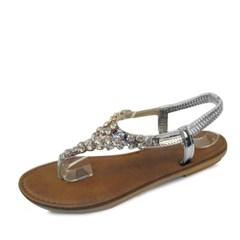 kami et muse Jewel cubic beads flip flop sandals_KM17s373