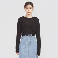 round neck golgi long sleeve knit_(695361)