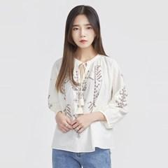ethnic mood leaves blouse_(696541)