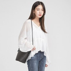 pure mood flare detail blouse_(693577)