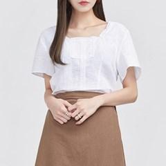delicate lace linen blouse_(693350)
