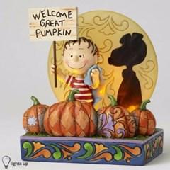 스누피 - 50주년 Great Pumpkin 조명등   (