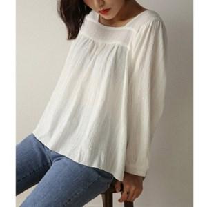 back string square blouse