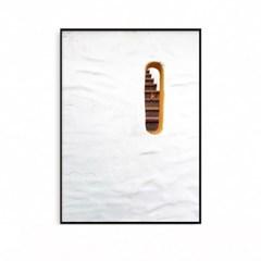패브릭포스터 인테리어 액자 지중해 계단