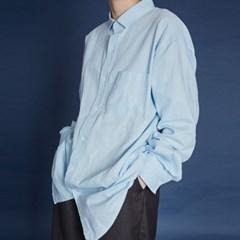 over cotton shirt (3 color) - UNISEX_(697458)