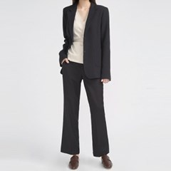 two button line simple jacket_(697278)