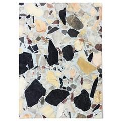 패브릭 포스터 F056 패턴 바란스 커튼 테라조 no.2