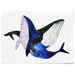 패브릭 포스터 F054 동물 그림 태피스트리 고래 ver3