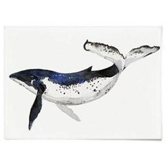 패브릭 포스터 F053 동물 그림 태피스트리 고래 ver2