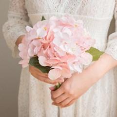 로맨틱 핑크 수국부케_(515904)