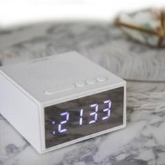 [아이리버] 하루 시작, SOUND TIME 블루투스 스피커 (알람시계/FM)