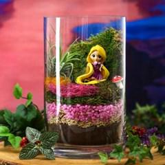 디즈니 공주 피규어 테라리움 - 라푼젤