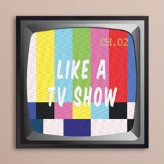 LP 메탈 액자 - Like a Tvshow