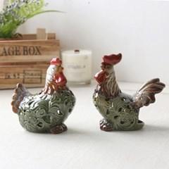 닭 캔들(2p set)