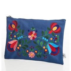 D204 PIA Clutch bag (blue)