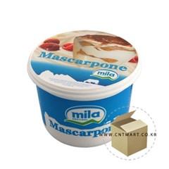 냉장-밀라 마스카포네 치즈 500g 1박스-6개_(588802)