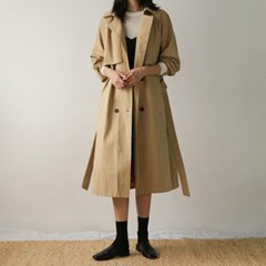 hero loose fit trench coat