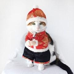 Miyopet 중국옷 냥서방 멍서방 고양이 강아지 옷